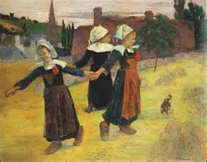 tre giovani bretoni